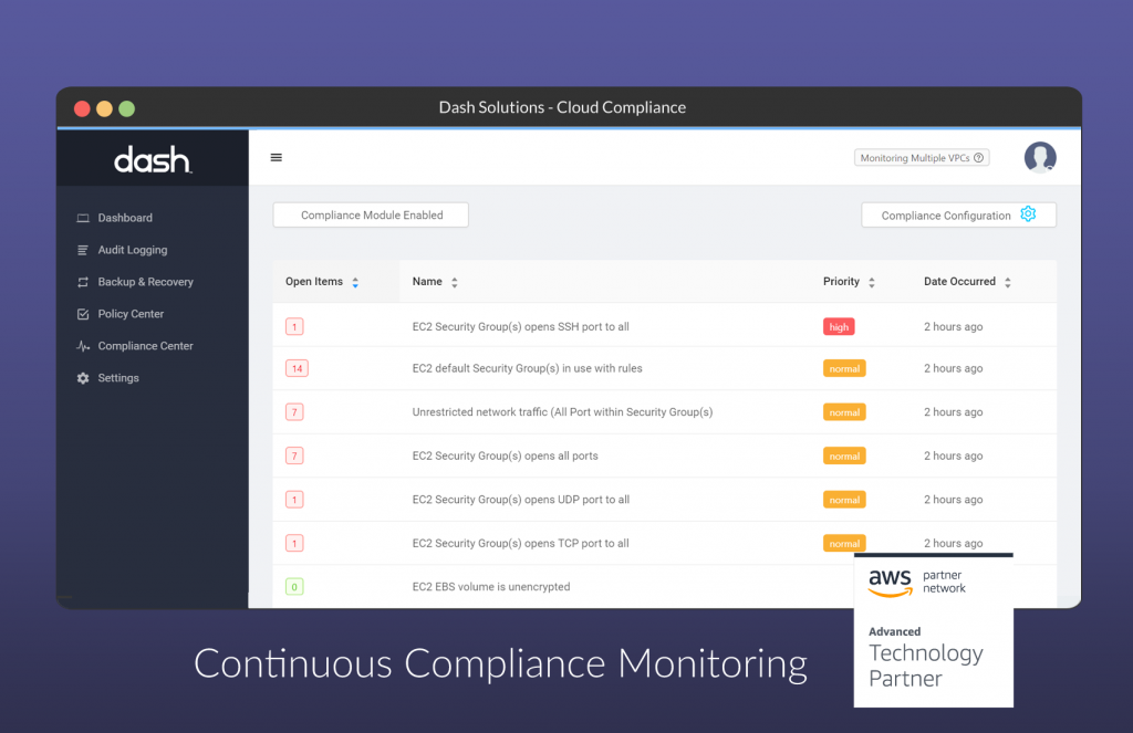 continuous compliance monitoring